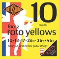 Roto Sound Roto Yellows R10-2 / Double Decker (10-46 / 2 sets)