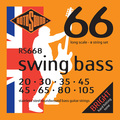 Roto Sound Swing Bass Stainless Steel RS668 8 String Set (20-105 - long scale)