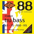 Roto Sound Tru Bass RS88LD Black Nylon (65-115 - long scale)