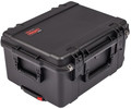 SKB 3i-2015-10b-c Waterproof Utility Case w/Wheels & Cubed Foam
