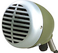 Shure 520DX Green Bullet / Velolampe Microphone pour harmonica