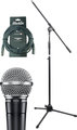 Shure SM58 Artist Set (incl stand & 10m cable)