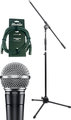 Shure SM58 Artist Set (incl stand & 6m cable)