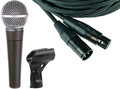 Shure SM58 Cable Set (10m) Dynamic Microphones