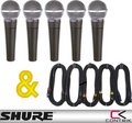 Shure SM58 + Contrik Cable Set Dynamic Microphone Multi-Packs