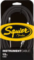 Squier Instrument cable 15ft, 4.5m
