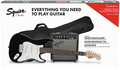 Squier Stratocaster Pack, Gig Bag, 10G - 230V EU (black)