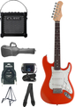 Stagg S300 3/4 Set (orange matt) Electric Guitar Beginner Packs