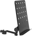 Stagg Small Mus.Stand Plate With Arm (schwarz)