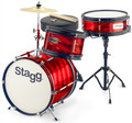 Stagg TIM JR 3/12B RD (red)