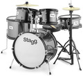 Stagg TIM JR 5/16 BK (black)