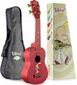 Stagg Ukulele Titeuf Red