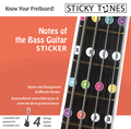 Sticky Tunes E-Bass Practice Stickers / Notes of the Fingerboard (set)