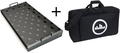 Temple Audio Design Duo 24 with Soft Case (gunmetal) Floor Pedal Board
