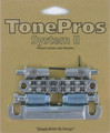 TonePros LPM02 Bridge and Tailpiece Set (chrome)