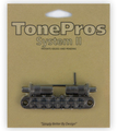 TonePros T3BT Tune-O-Matic Metric Posts (black chrome)