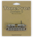 TonePros T3BT Tune-O-Matic Metric Posts (nickel)