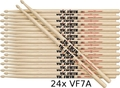 Vic Firth VF7A Multipack 24 / VF7A Hickory