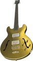 Warwick PS StarBass 5-String (gold matallic, passive, fretless)