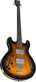 Warwick PS StarBass 5-String (vintage sunburst, passive, fretless, left handed)