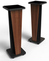Zaor Croce Stand 36 - Pair (walnut / black)