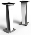 Zaor Croce Stand 36 - Pair (white gloss / grey)